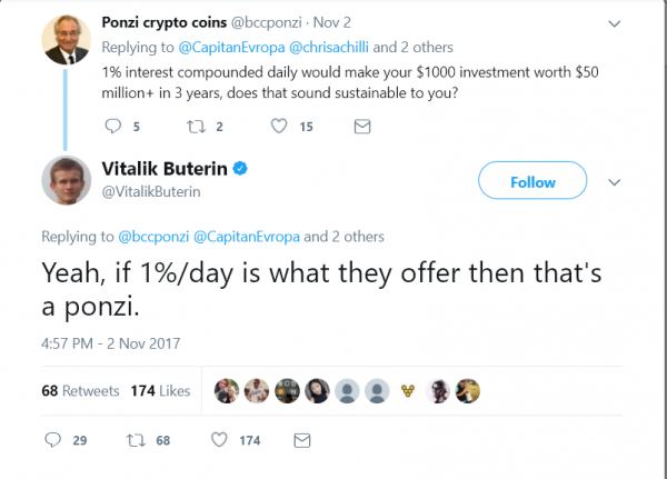 Vitalik Buterin Tweet