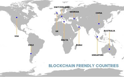 Top 8 Countries Using Blockchain Technology Around the World