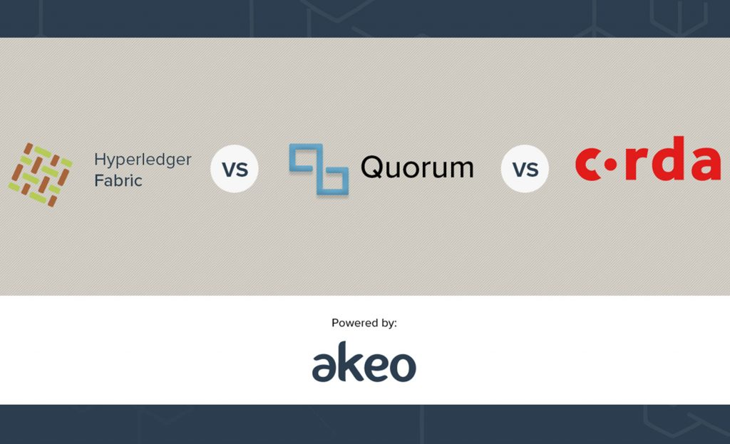 Why Hyperledger Fabric will Win Against Corda and Quorum