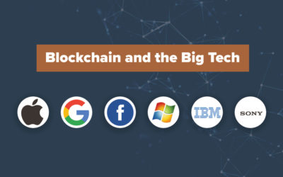 Tech giants and blockchain 2020 – what's the status?