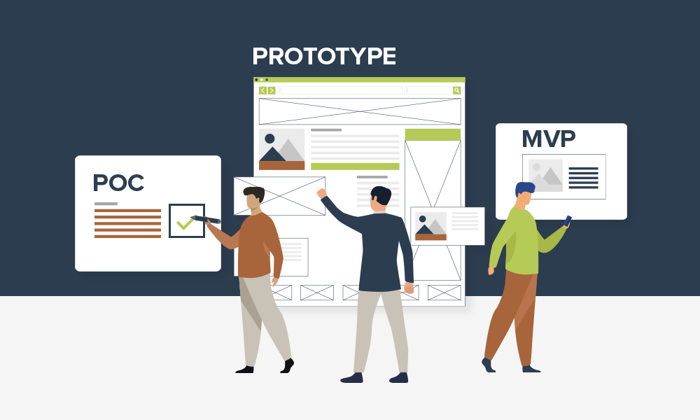 As a startup should you choose MVP, Prototype or PoC